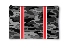 Camo Striped Accessory Pouches