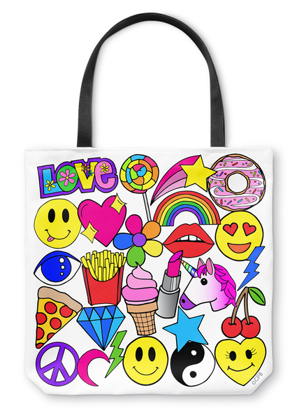 Emoji Love Tote Bag