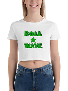 Roll Wave Star Stacked Crop Tee