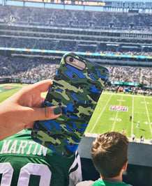 Camo Stars iPhone Case