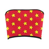 Yellow & Red All-Star Bandeau Top