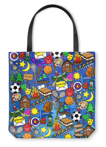 Galaxy Camp Tote Bag