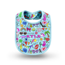 Glam Girl Baby Bib