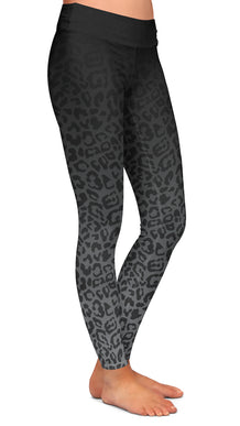 Gray Ombre Cheetah Leggings