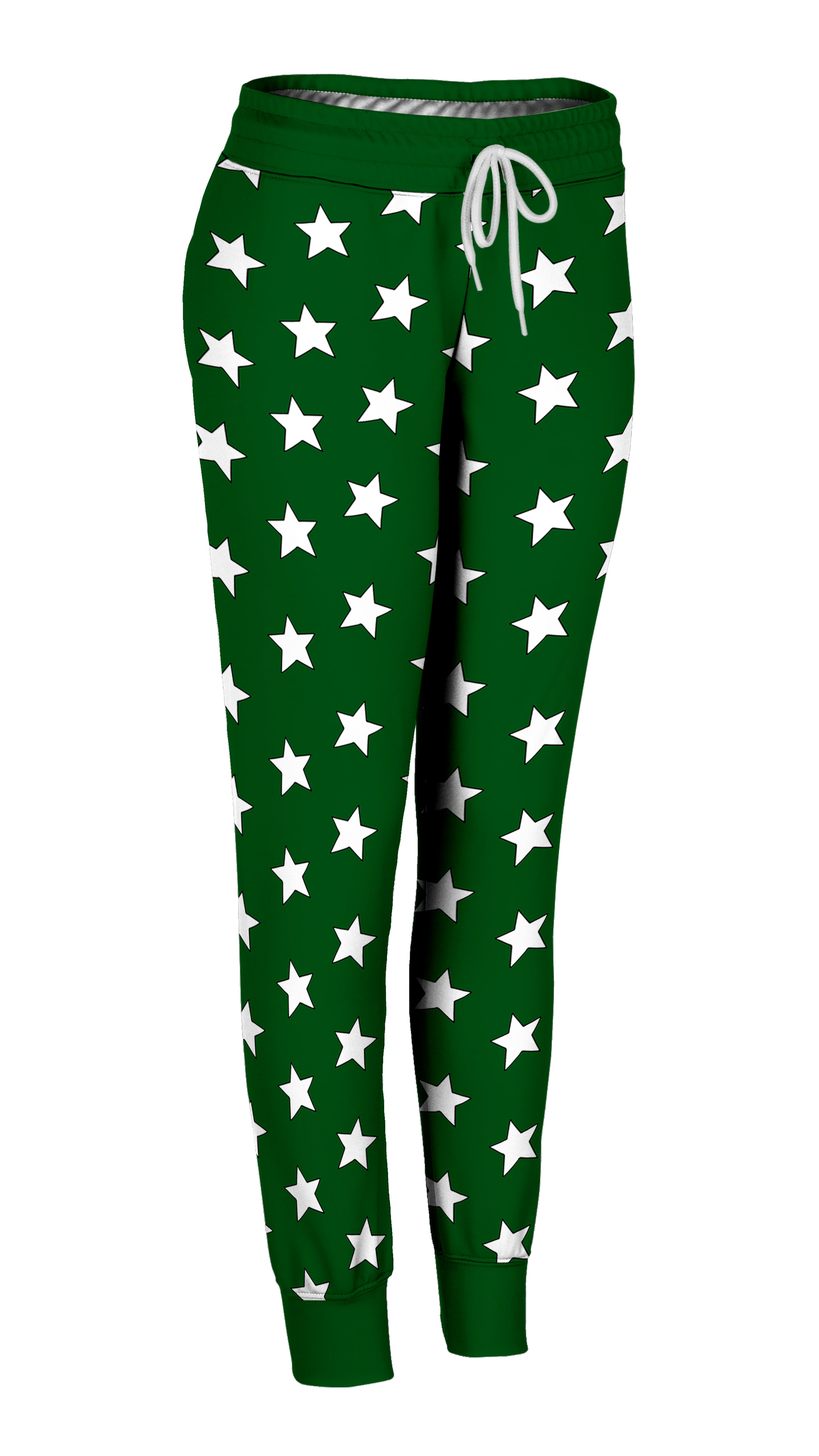 Green & White All-Star Joggers