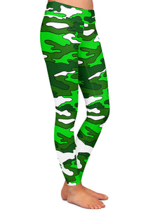 Colored Camouflage Leggings