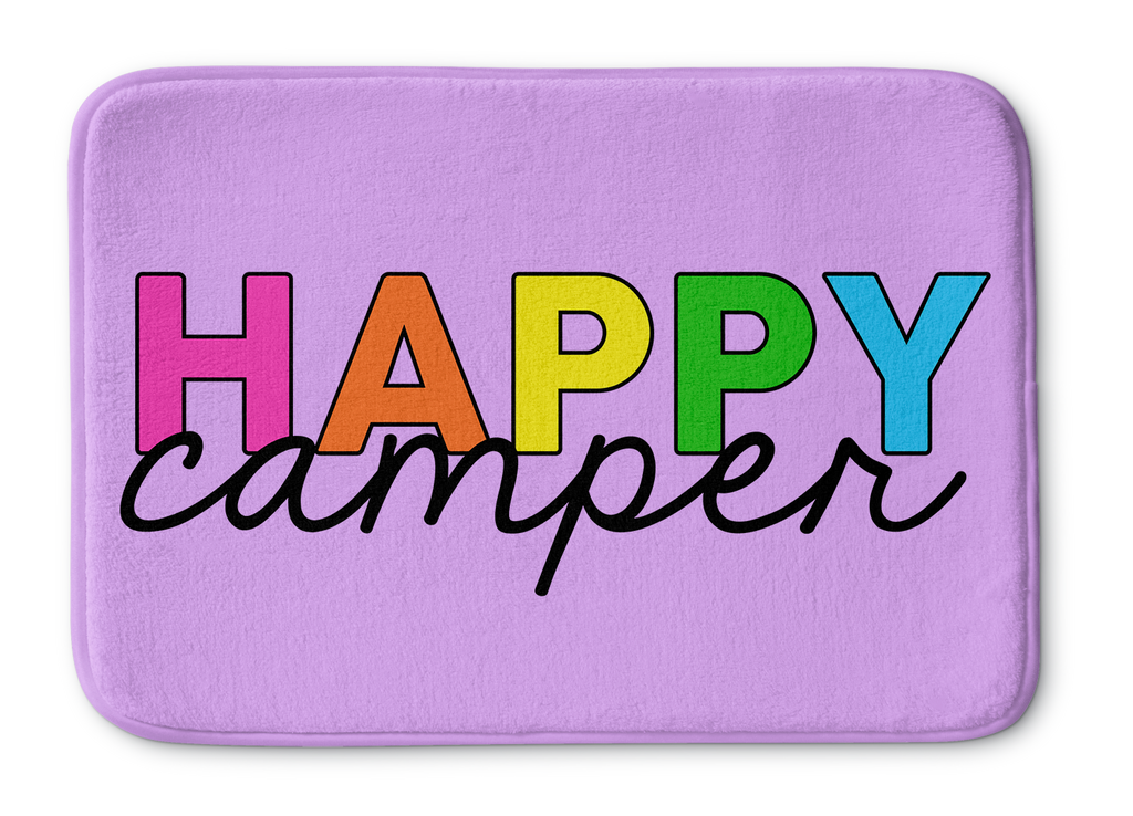 Happy Camper Bathmat
