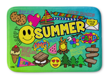 Happy Summer Bathmat