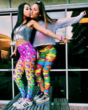 Rainbow Camo Leggings