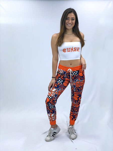 Syracuse Collage Joggers