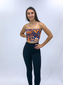 Syracuse Collage Tube Top