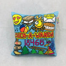 Chen-A-Wanda Throw Pillow