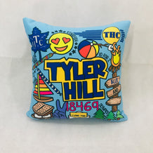 Tyler Hill Throw Pillow