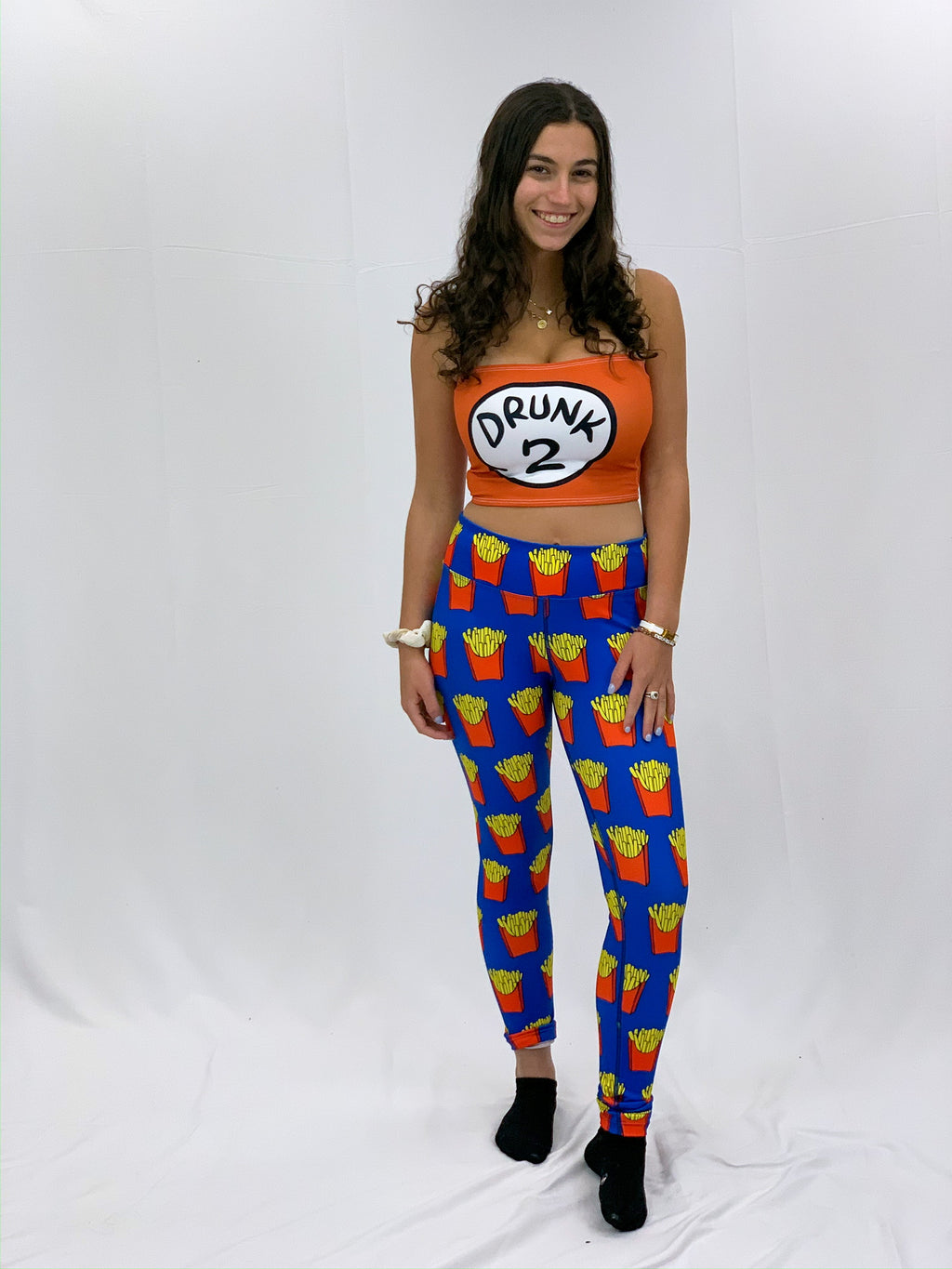French Fries Leggings