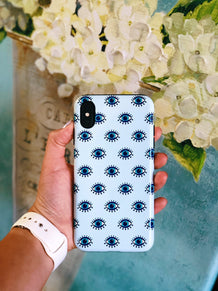 Blue Eyes Phone Case