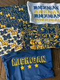Michigan Collage Tube Top