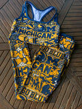 Michigan Collage Sports Bra