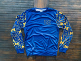 Michigan M Pattern Crew Neck