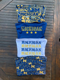 Michigan Gothic Stacked Tube Top
