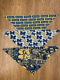 Michigan M Pattern Bandana