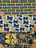 Michigan Block Pattern Bandana