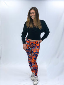 Syracuse Collage Leggings