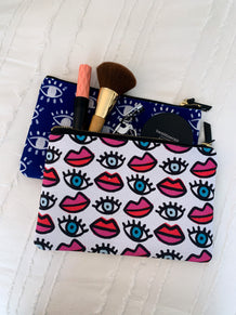 Eyes Accessory Pouch