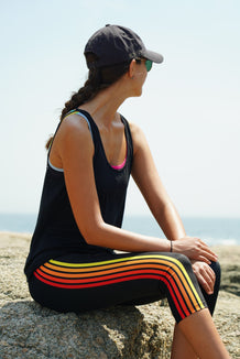 Sunset Stripe Capris