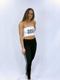 Roll Wave Gothic Tube Top