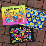School Supplies Accessory Pouch
