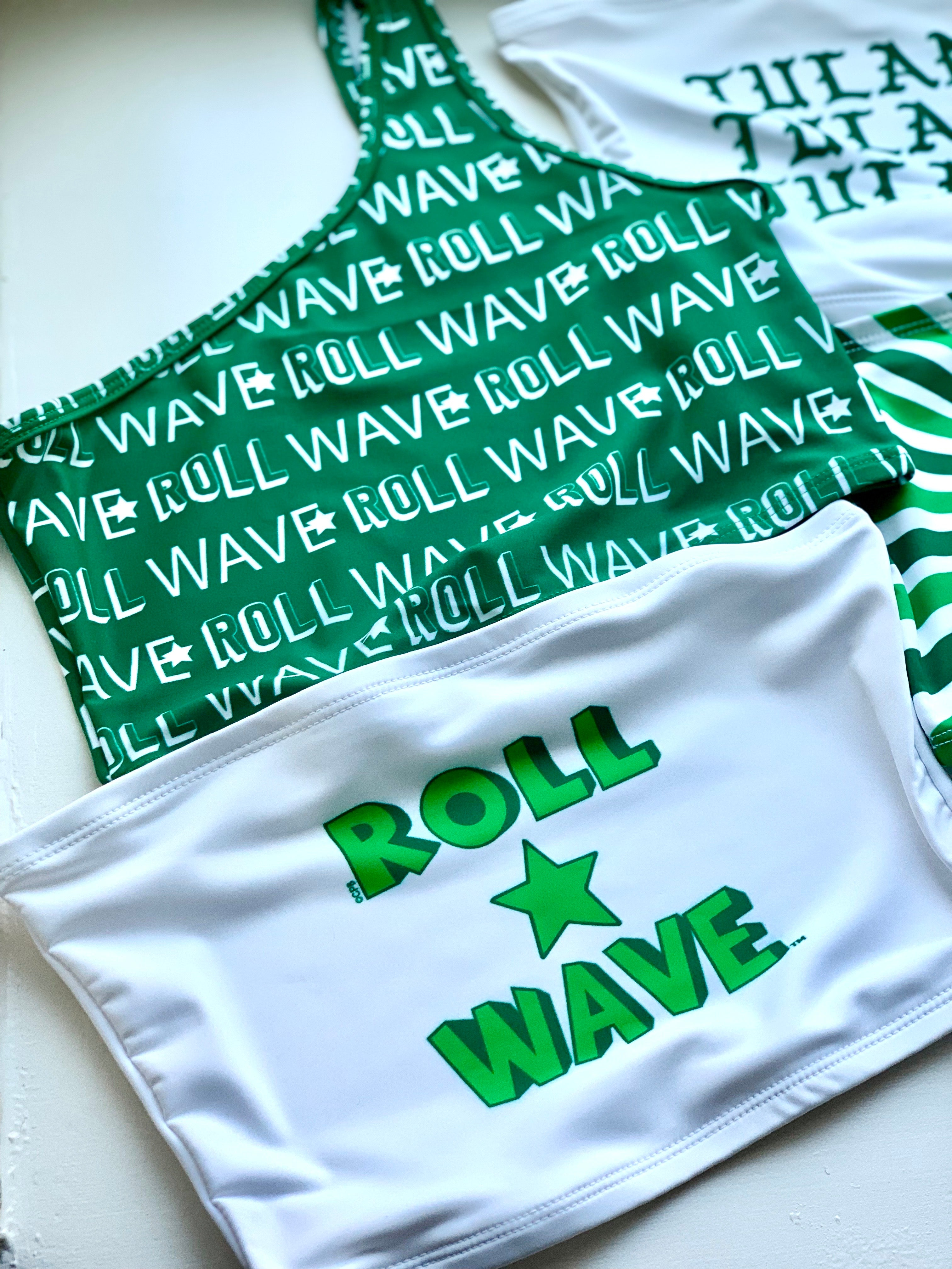 Roll Wave Star Stacked Tube Top