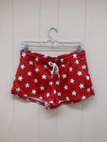 Red & White All-Star Shorts