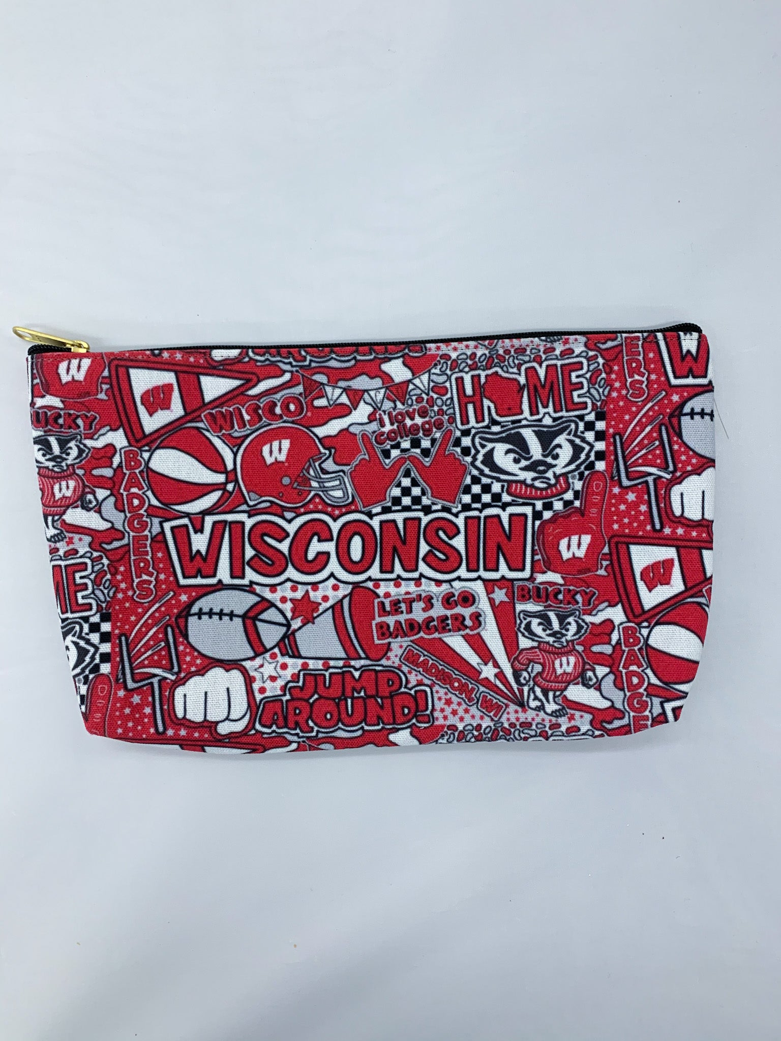 Wisco Collage Accessory Pouch