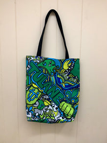 Tulane Collage Tote Bag
