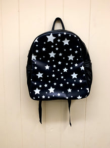 Black & White Stars Backpack