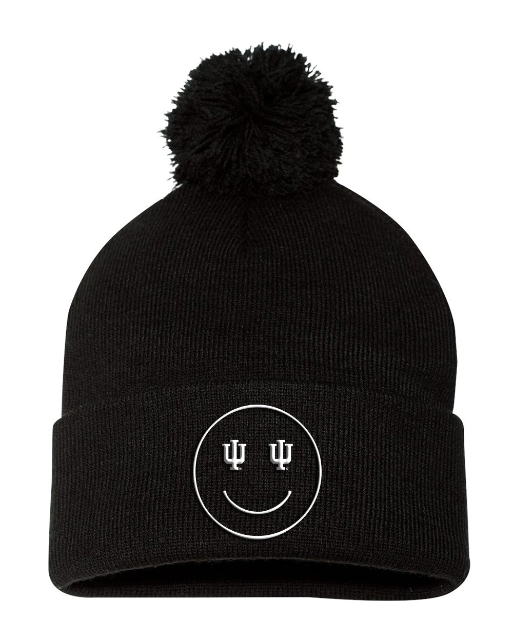 Indiana Trident Happy Face Beanie
