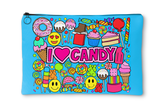 I Love Candy Accessory Pouch