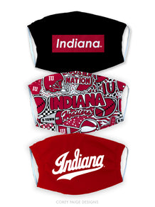 Indiana University Face Mask Cover Pre-Pack
