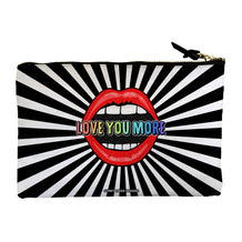 Love You More Accessory Pouch