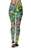 Mardi Party Leggings