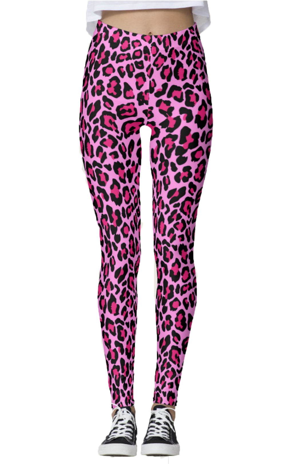 Pink Cheetah Leggings