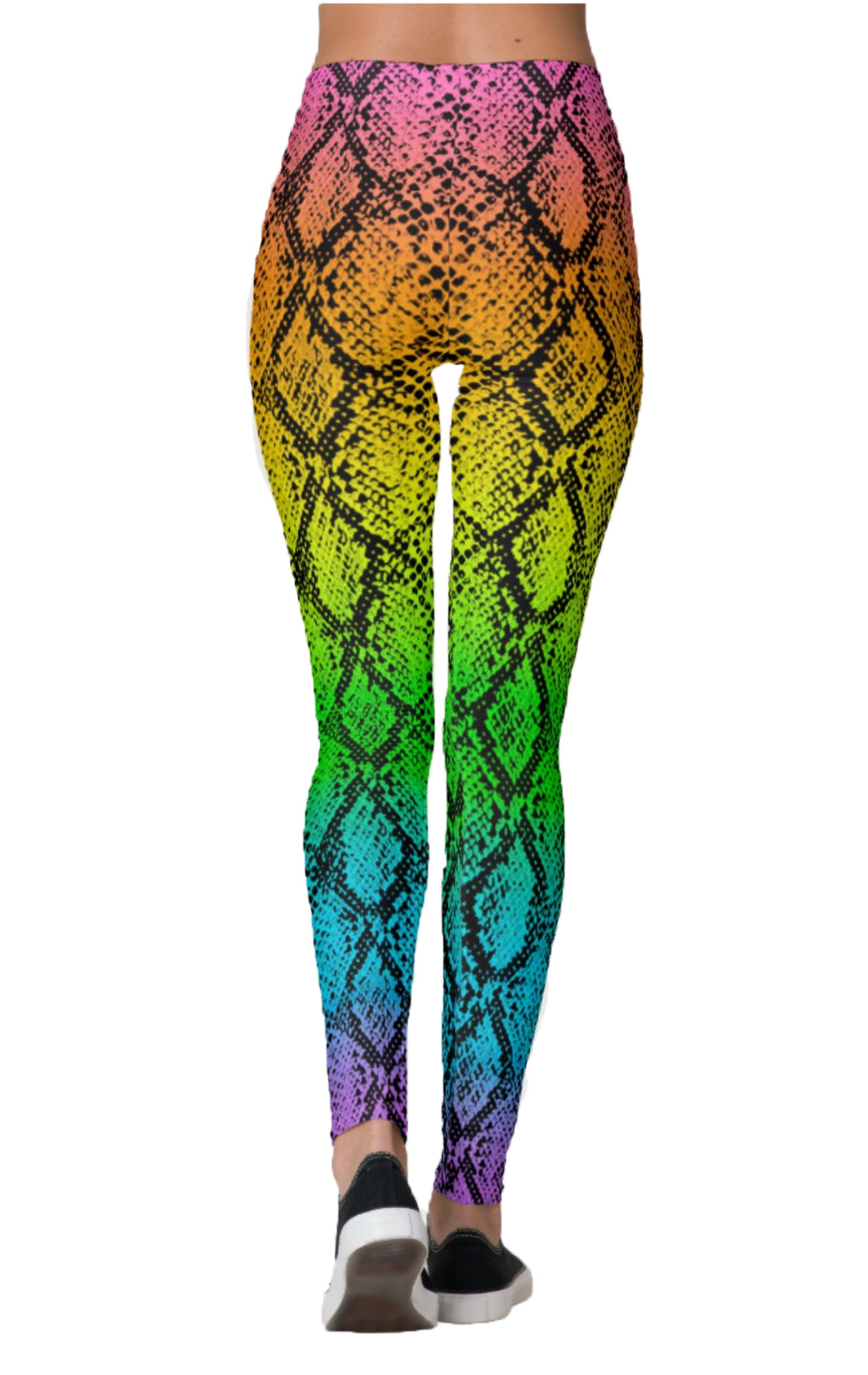 Rainbow Snakeskin Leggings