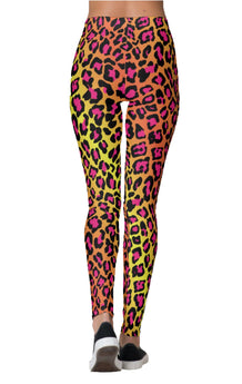 Tropical Cheetah Leggings