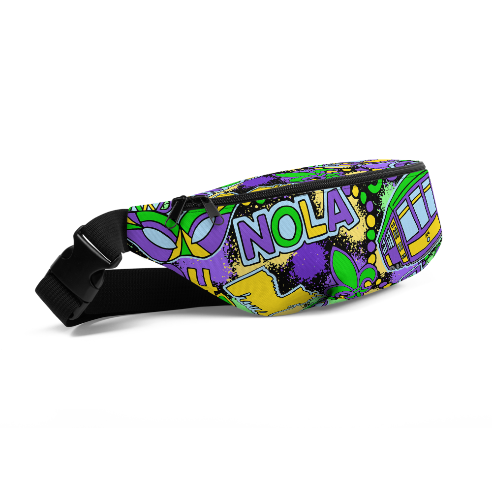 Mardi Party Fanny Pack