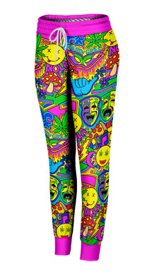 Mardi Gras Collage Joggers