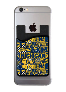 Michigan Collage Card Caddy