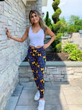 Michigan M Pattern Leggings