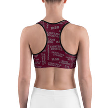 Parkland Strong Gothic Letters Sports Bra