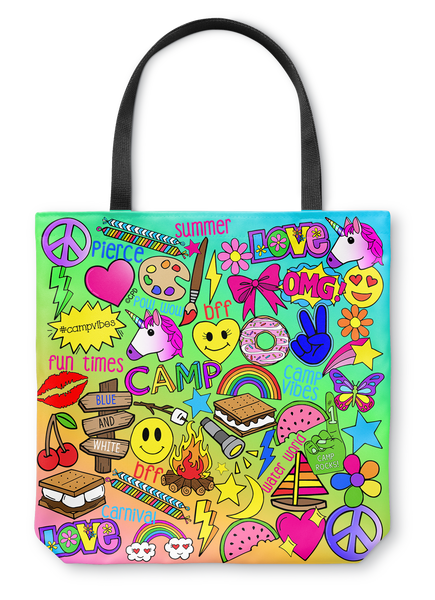 Camp Times - Pierce Day Camp - Tote Bag