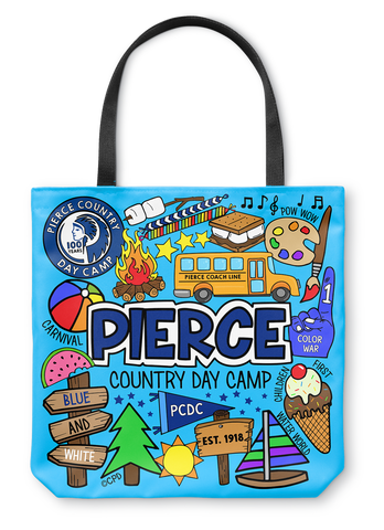 Pierce Day Camp Tote Bag